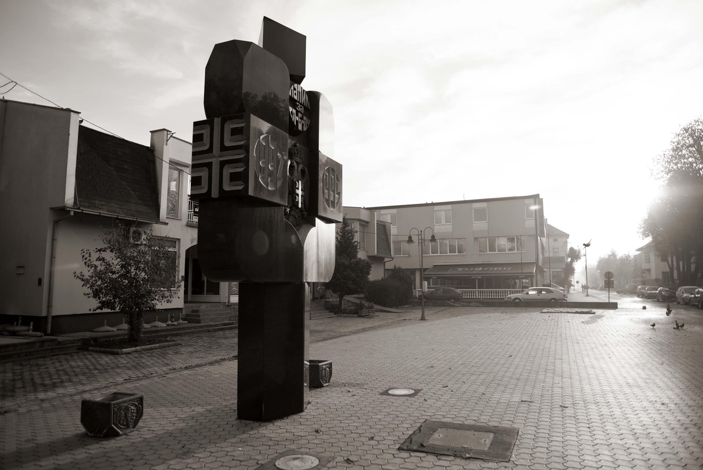 Šamac, Centralni spomenik palim za slobodu '92-'95.