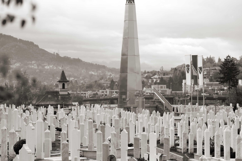 Sarajevo, Koševo, Spomen-obilježje na šehidskom mezarju