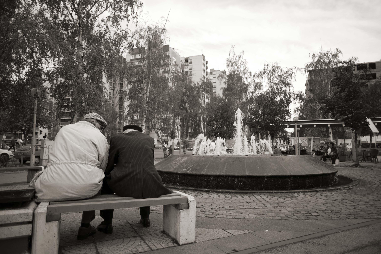 Tuzla, Spomen fontana na Brčanskoj Malti