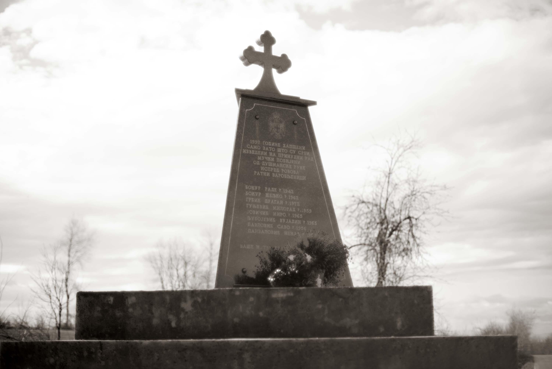 Derventa, Spomenik u Velikoj Sočanici