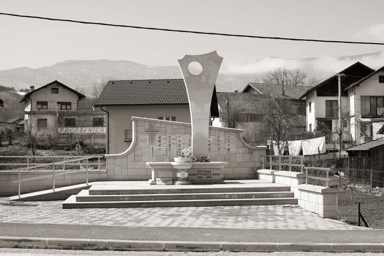 Bihać, Žegar, Spomenik žrtvama Domovinskog rata