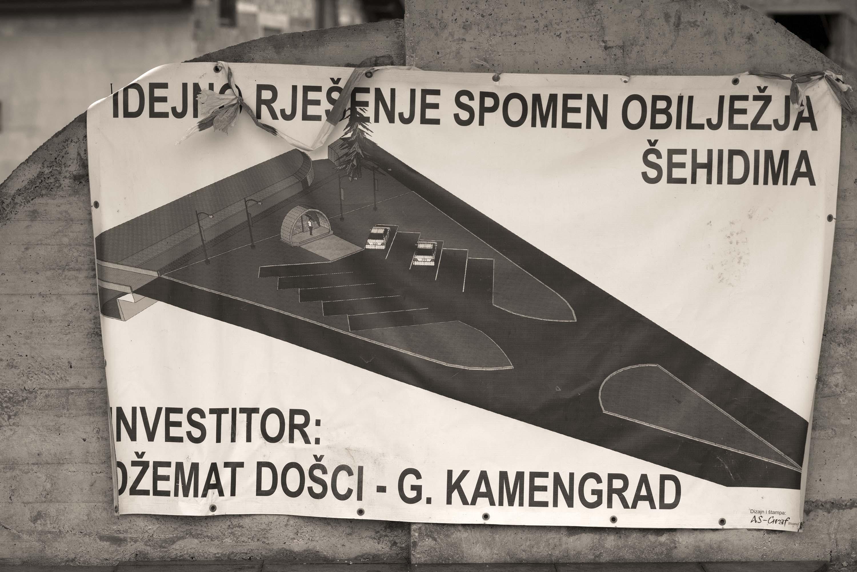 Sanski Most, Došci-Gornji Kamengrad, Šehidsko spomen-obilježje